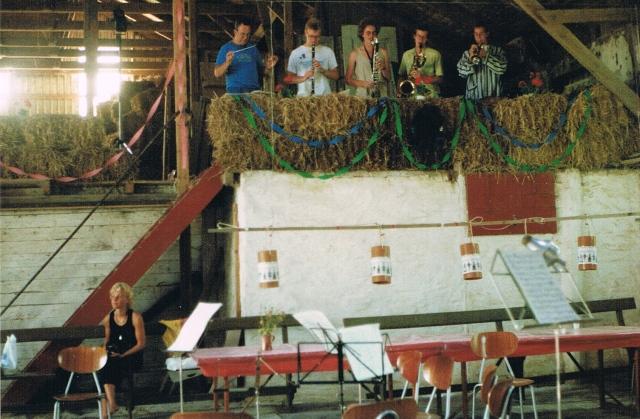 koncert i høet